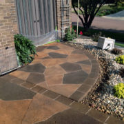 Engraving - Border & Flagstone