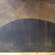 Engraving - Wood & Flagstone
