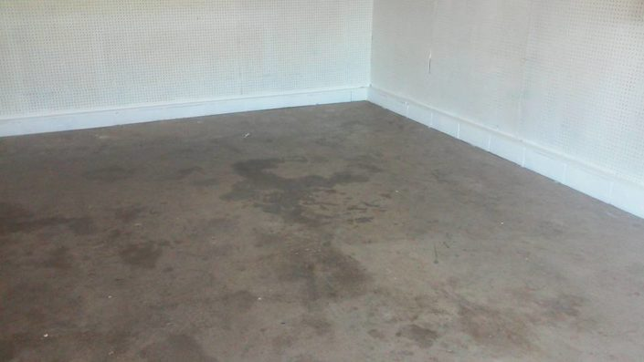 Garage Floor-Before