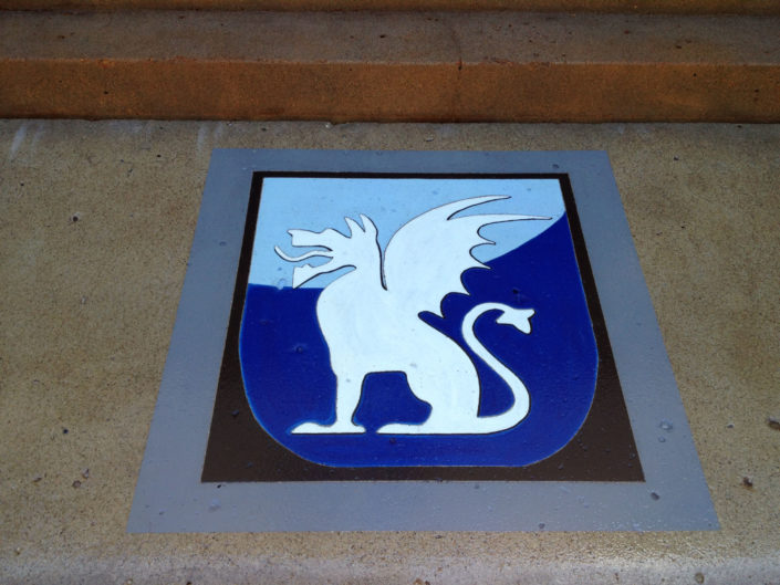 Frat House Logo for Entryway