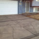 Driveway with Flagstone Look