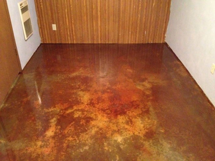 Basement Acid Staining