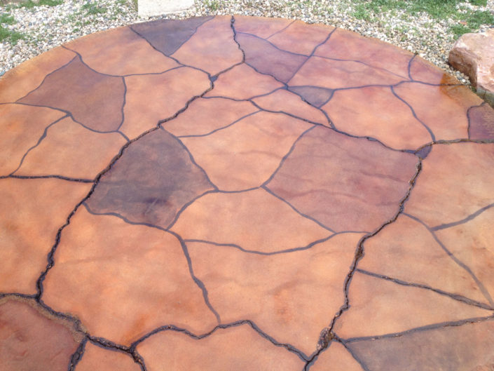 Flagstone Engraved Landscaping