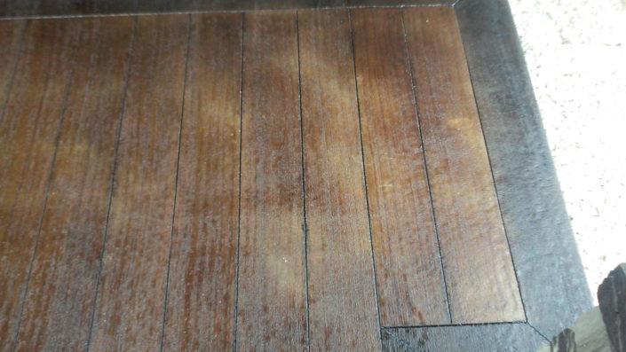 Porch Wood Closeup