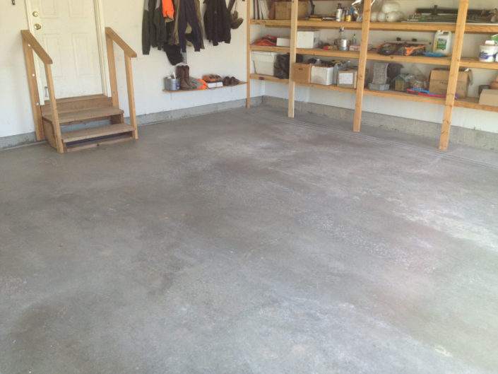 Bettle-Garage Floor Before
